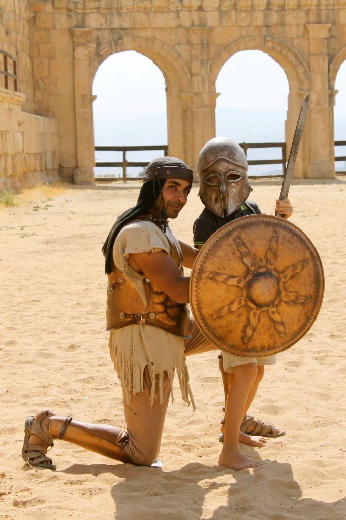 Arthur in Jordan
