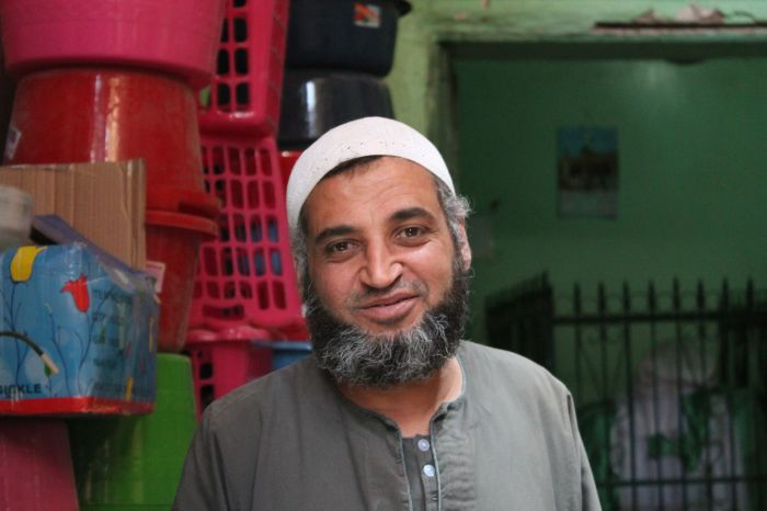 Egyptian tradesman